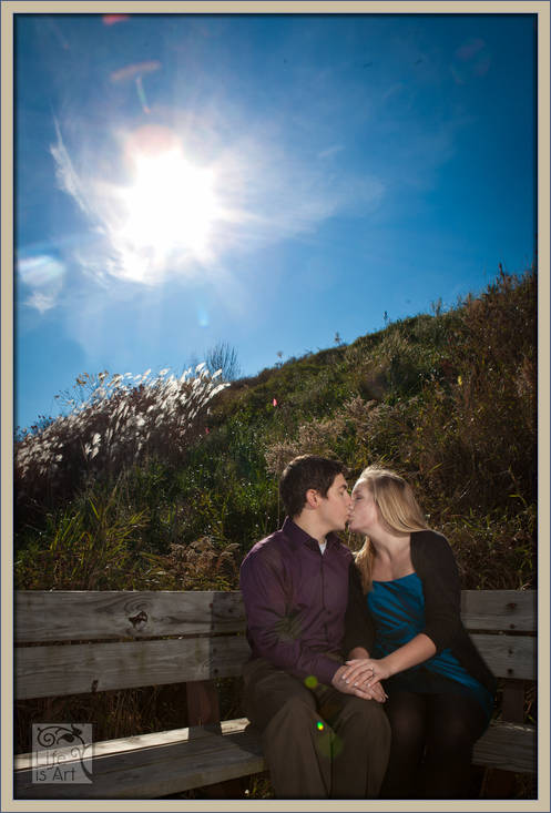 Milwaukee engagement Atwater Park
