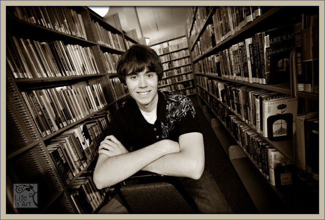 Stevens Point Pacelli High School senior portrait