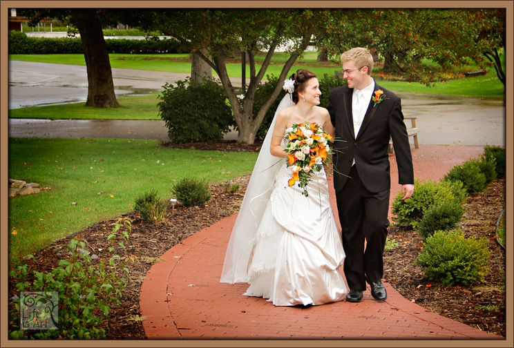 Stevens Point Country Club wedding